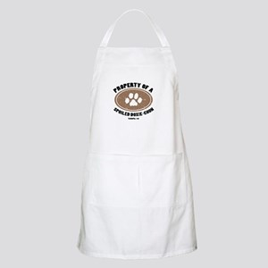 Doxie-Chon dog BBQ Apron