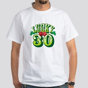 Lucky 30 - White T-Shirt