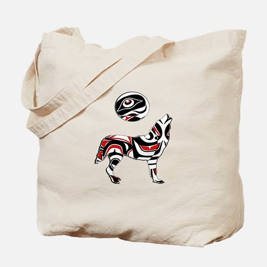 PACIFIC COASTAL HOWL Tote Bag