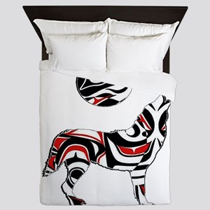PACIFIC COASTAL HOWL Queen Duvet