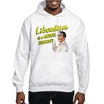 Liberalism Is A Mental Disease Hooded Sweatshirt
