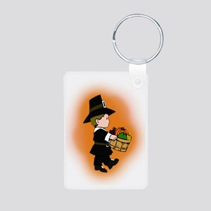 Little Pilgrim Aluminum Photo Keychain