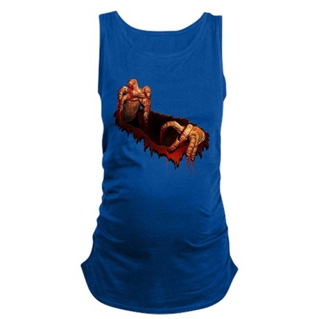 Zombie Halloween T-shirts Maternity Tank Top