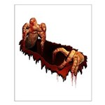 Halloween Zombie Small Poster