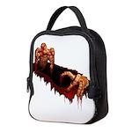 Halloween Zombie Neoprene Lunch Bag