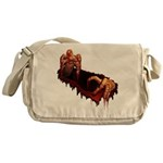 Halloween Zombie Messenger Bag