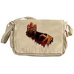 Halloween Zombie Messenger Bag