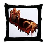 Halloween Zombie Throw Pillow