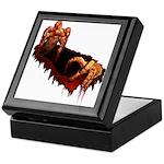Halloween Zombie Keepsake Box