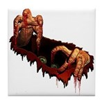 Halloween Zombie Tile Coaster