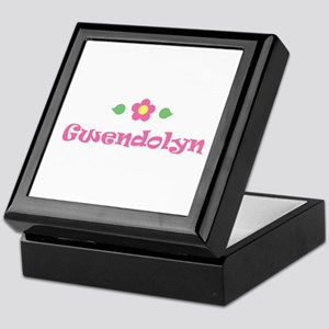 """Pink Daisy - """"Gwendolyn"""" Keepsake Box"""