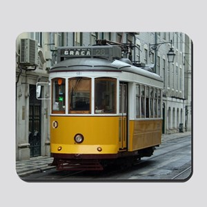 Tramway at Lisboa Mousepad
