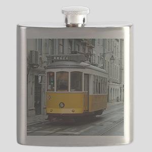 Tramway at Lisboa Flask