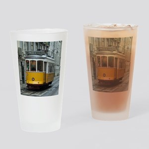 Tramway at Lisboa Drinking Glass
