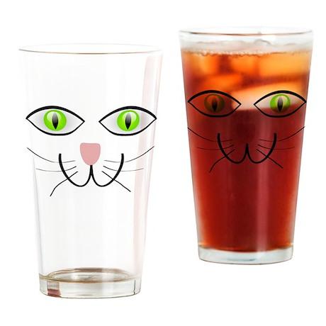 Cat Eyes Drinking Glass