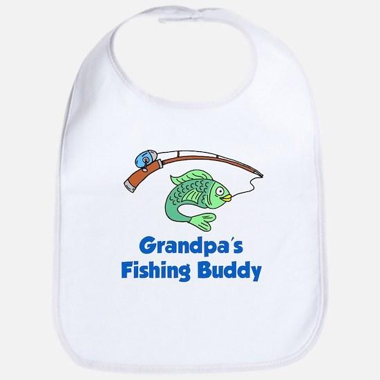 Grandpas Fishing Buddy Bib