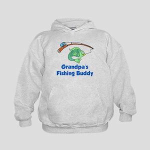 Grandpas Fishing Buddy Hoodie