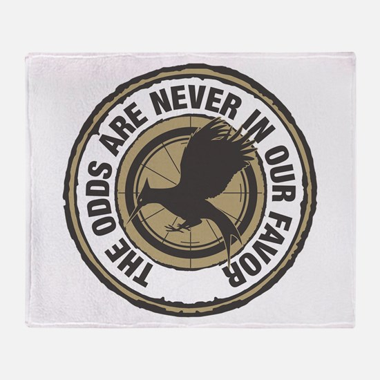 Catching Fire Odds in Our Favor Throw Blanket