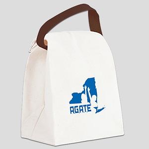 AGATE logo Canvas Lunch Bag