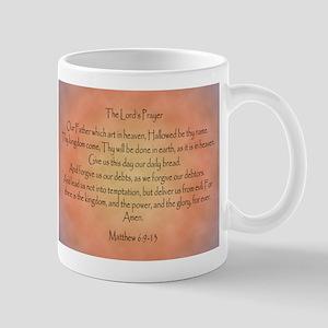 The Lord's Prayer Christian Mug