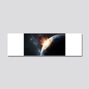 Collision on Earth Car Magnet 10 x 3