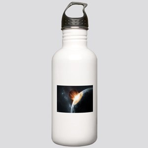 Collision on Earth Water Bottle
