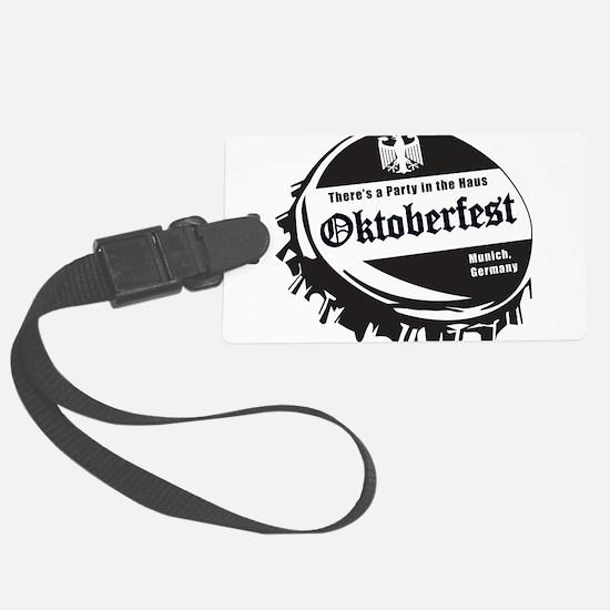Oktoberfest-Bottle-Cap Luggage Tag
