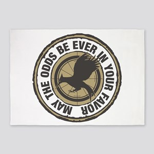 Catching Fire Odds in Your Favor 5'x7'Area Rug