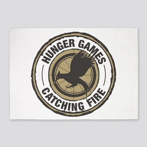Hunger Games Catching Fire 5'x7'Area Rug