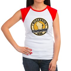 Wisconsin Statehood Women's Cap Sleeve T-Shirt