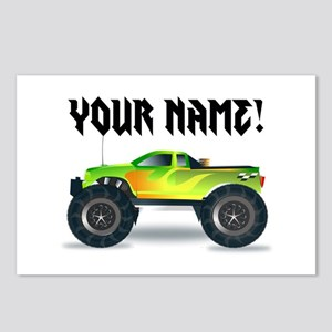 Personalized Monster Truck Postcards (Package of 8