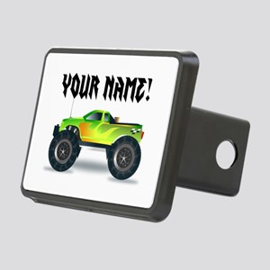 Personalized Monster Truck Hitch Cover