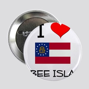 "I Love TYBEE ISLAND Georgia 2.25"" Button"