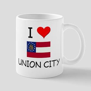 I Love UNION CITY Georgia Mugs