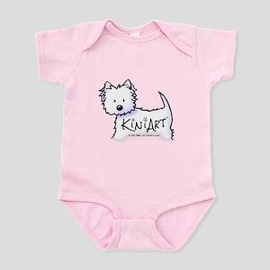 KiniArt Promo Westie Infant Bodysuit