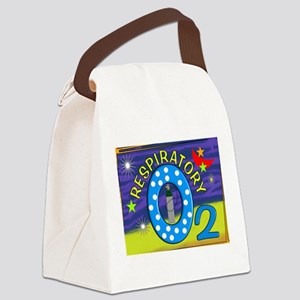 respiratory 8 blanket Canvas Lunch Bag