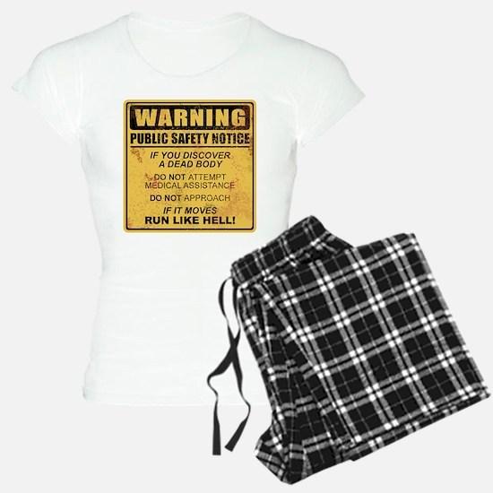 Warning Pajamas