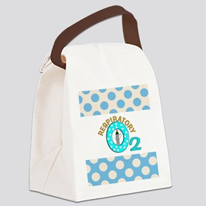 respiratory 3 Canvas Lunch Bag