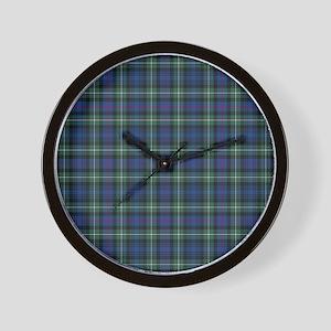 Tartan-MacKenzie Wall Clock