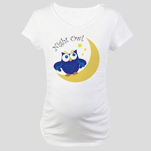 Night Owl Maternity T-Shirt