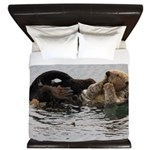California Sea Otter King Duvet