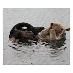 California Sea Otter King Duvet