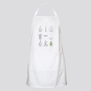Architecture History of Christmas Tree Apron