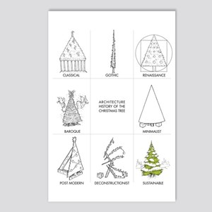 Architecture History of C Postcards (Package of 8)