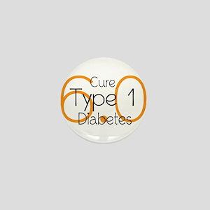 Cure Type 1 Diabetes 6.0 Mini Button