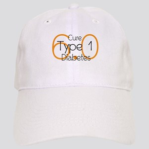Cure Type 1 Diabetes 6.0 Baseball Cap