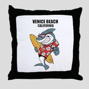 Venice Beach, California Throw Pillow