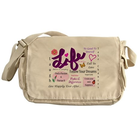 Life Lessons Messenger Bag