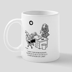 Worry a Bit Longer Mug