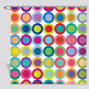 Colour Mix Shower Curtain